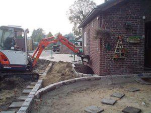Tom van den Heuvel te Venlo - Aanleg Tuin