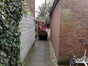 Tom van den Heuvel te Venlo - Afvoeren Grond