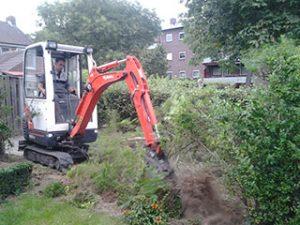 Tom van den Heuvel te Venlo - Struiken Verwijderen