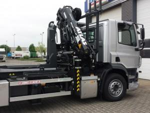 Vrachtwagen Autolaadkraan Tom van den Heuvel te Venlo