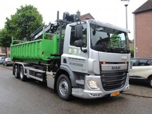 Vrachtwagen Tom van den Heuvel te Venlo