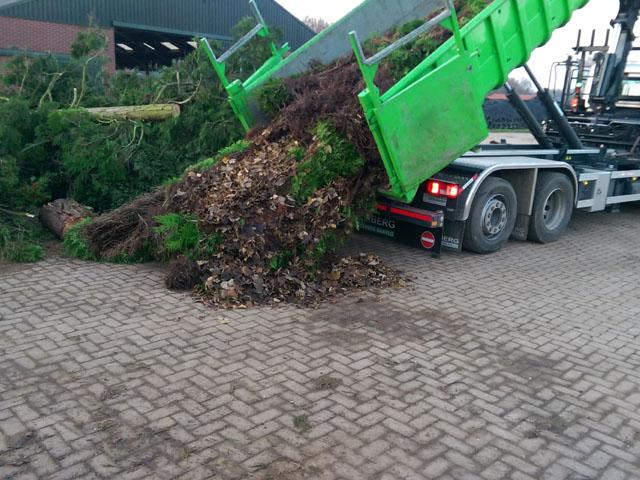 Storten Groenafval Tom van den Heuvel te Venlo - 2