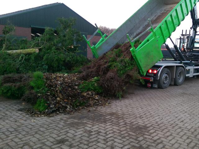 Storten Groenafval Tom van den Heuvel te Venlo