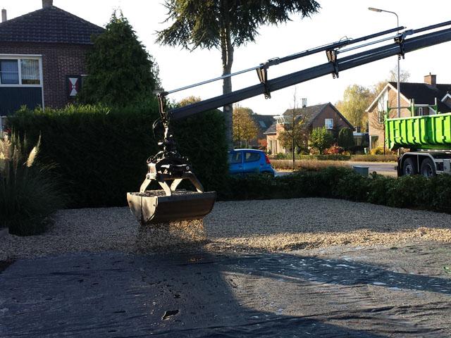 Grindpad Aanleggen Tom van den Heuvel te Venlo