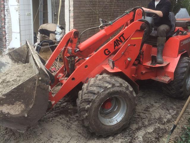 Fundering Aanbouw Arcen- Tom van den Heuvel te Venlo