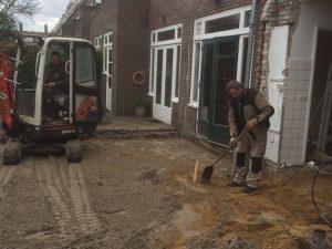 Fundering Aanbouw Beringe - Tom van den Heuvel te Venlo
