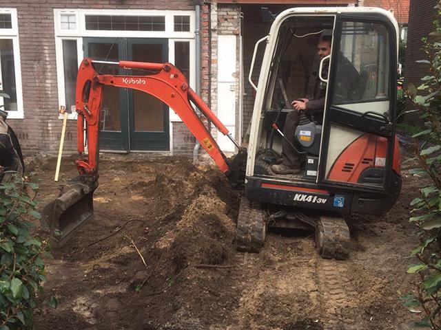 Fundering Aanbouw Blerick - Tom van den Heuvel te Venlo