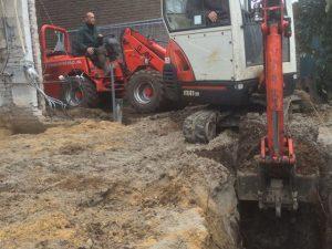 Fundering Aanbouw Roermond - Tom van den Heuvel te Venlo