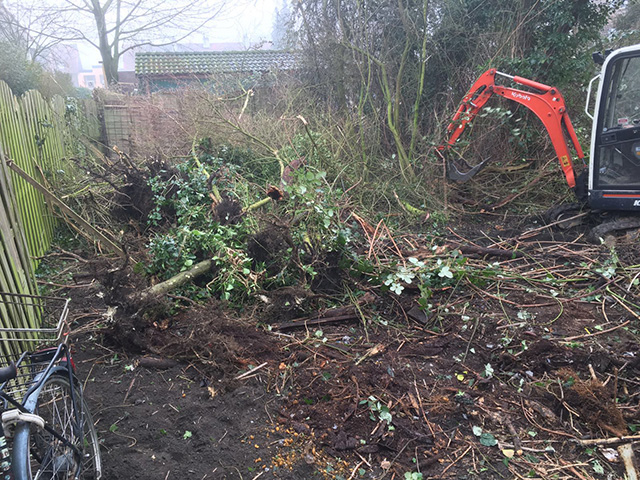 Struiken Tuin Verwijderen uit tuin - Tom van den Heuvel te Venlo.