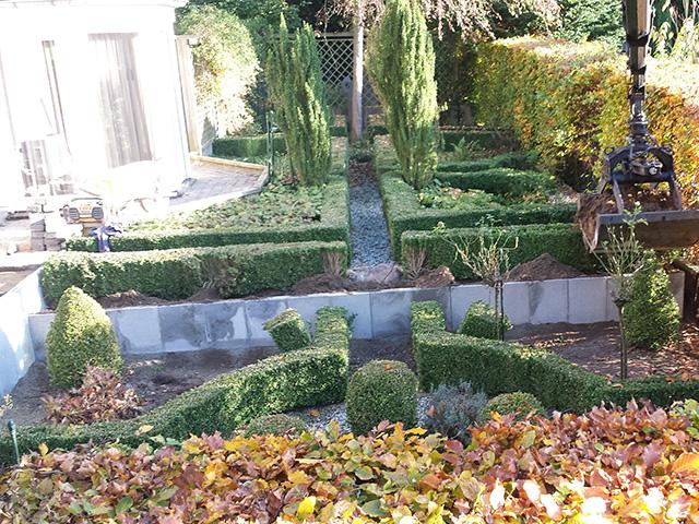 Hoogteverschil Tuin 11 - Tom van den Heuvel te Venlo