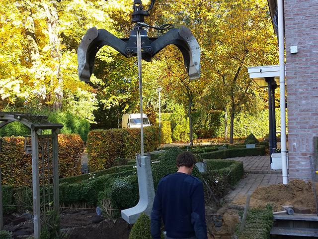 Hoogteverschil Tuin 9 - Tom van den Heuvel te Venlo